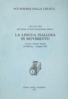 La lingua italiana in movimento